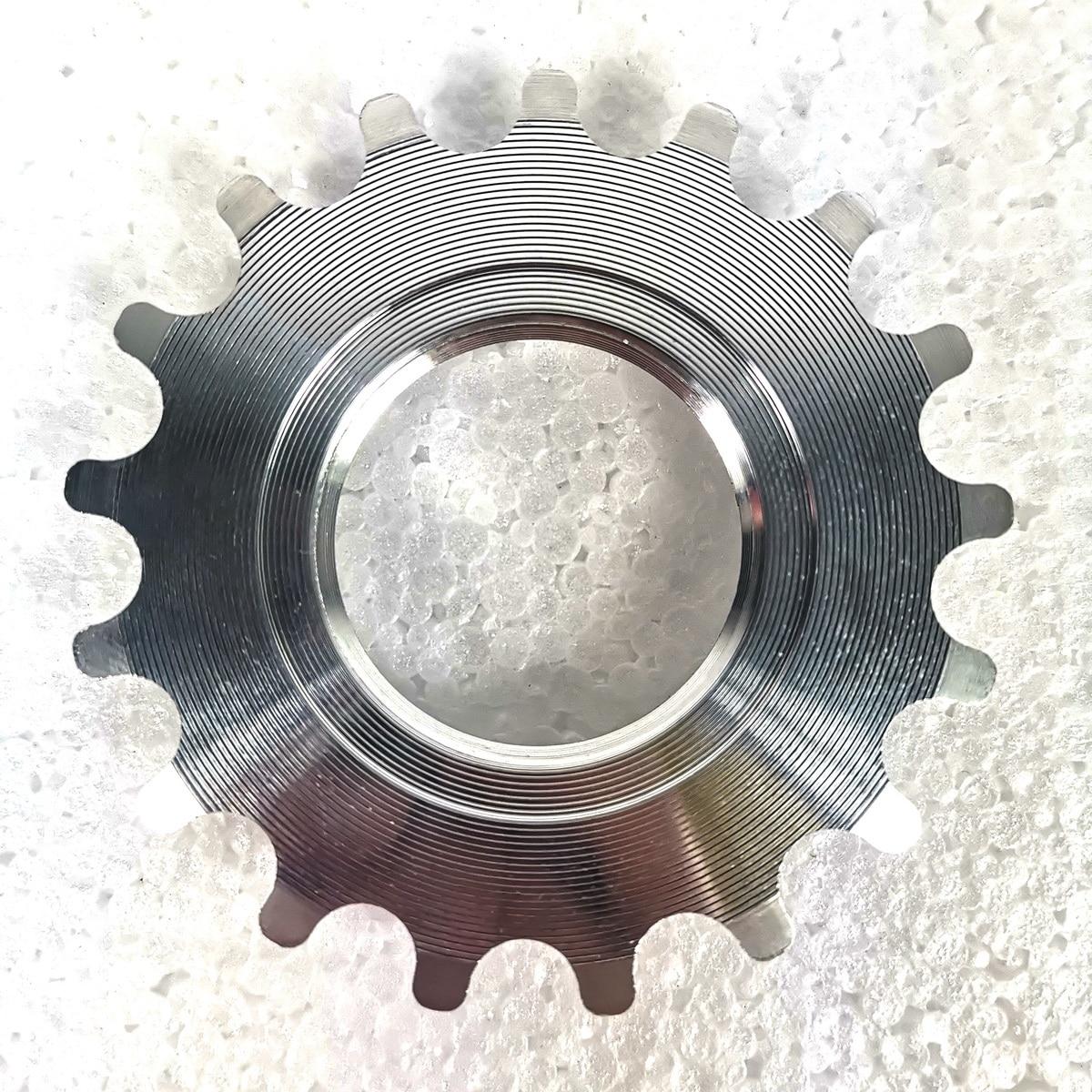 Light Timetec FIXED GEAR Cog Alloy 17T Bike Sprocket Freewheel Ring Bicycle Parts Single Speed