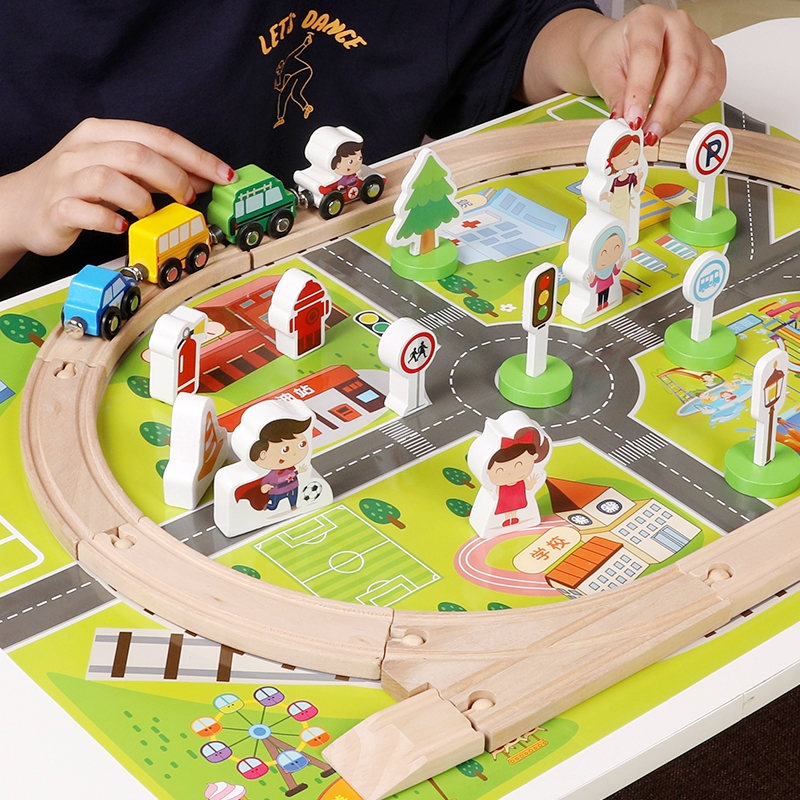 Kids Children Baby Boy Disassembly Classic Car Train Model Educational Play Toys