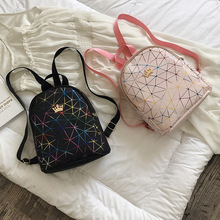 Women Mini Backpack PU Leather Shoulder School Rucksack Ladies Girls Travel Bag Luxury