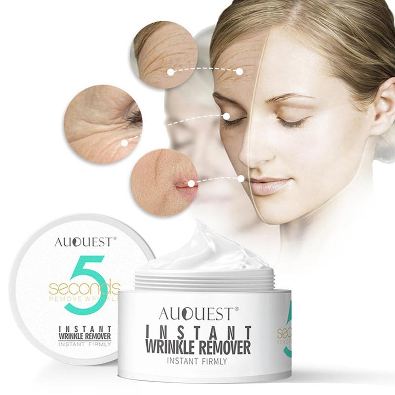 5 Seconds Wrinkle Remove Cream Peptide Skin Firming Tighten Moisturizer Face Cream Instant Wrinkle Cream Eye Care New