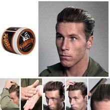 Creme de cabelo popular antigo, produto fecho para penteado de salão de beleza, suporte de cabelo em suavecito, crânio forte, modelagem de cabelo, lama Y-87