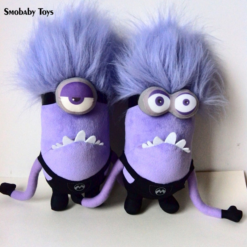 60/30cm Despicable Me Toys For Children Anime Plush Doll Purple Minions Plush Toys Stuffed Pillow Boy Girl Gift For Kids
