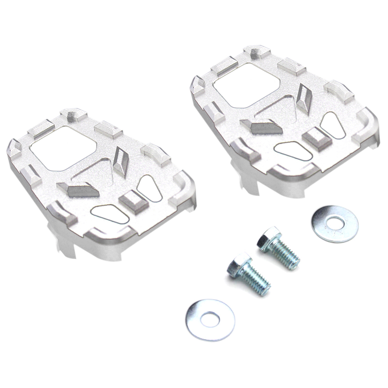 Motorcycle Billet Mx Wide Foot Pegs Pedals Rest Footpegs For Honda Crf1000L Africa Twin Adventure Sports 2014-2017