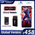 Оригинальное ASUS ROG Phone 3 глобальная версия ZS661KS Snapdragon 865/865 плюс 128/256 ГБ NFC Android Q OTA Update 5G игровой телефон ROG3