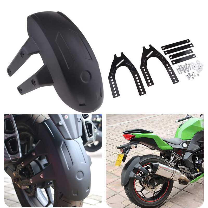 Back Mudguard Motorcycle Rear Mud Guard Gear Fender Moto Accessories For SUZUKI SV1000 APRILIA TUONO V4 BMW K1600GTL BMW K1200RS|  - title=