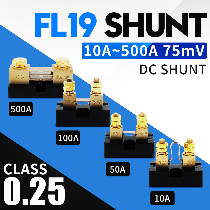DC Амперметр Сопротивление шунта FL-15 США Тип ток аналоговый сбора данных 10A15A20A30A50A75A100A 50/75100/мВ цифровой Напряжение