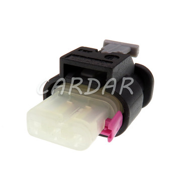1 Set 3 Pin 2-1718644-1 Car Waterproof Connector Electrical Plug Socket For VW Audi image