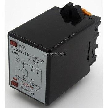 AFR-1 relé de nivel sin piso AC 220 V/interruptor con base de enchufe 220VAC