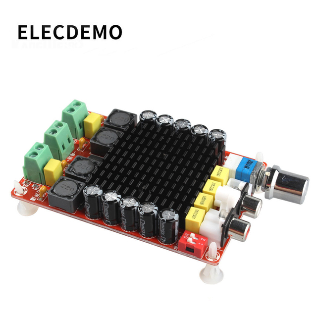 XH-M510 TDA7498 haute puissance numérique amplificateur de puissance carte 2*100W voiture amplificateur de puissance DC 14-34V