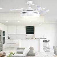 Remote Control Ceiling Fan Light 42inch Blades Ceiling Fan LED Light 3000K/4500K/6000K AC100 240V