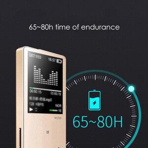 Image 5 - מהדי M350 MP3 נגן מתכת ספורט מיני נייד אודיו 4G/8G נגן מוסיקה