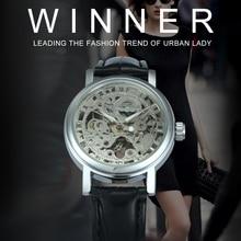 2019 WINNER Vintage Women Watches Mechanical Ladies Watch Le