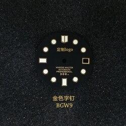 Seikomodified Универсальный Циферблат большой мм Swis светящийся Тип skx007 abalone маленький мм Циферблат