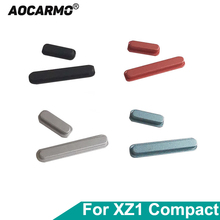 """Aocarmo botón de encendido y apagado para cámara Sony Xperia XZ1 Compact XZ1C XZ1mini G8441 G8442 S0 02K, 4,6"""""""