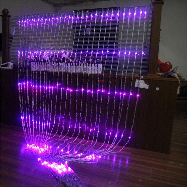 Купить 320 led струнный светильник водонепроницаемый метеоритный дождь