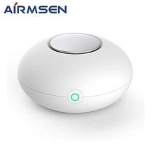 Airmsen Mini Ozone Air Purifier O3 Generator Deodorizer USB Rechargeable Fridge Purifier Portable Air Small Space Clear Odor
