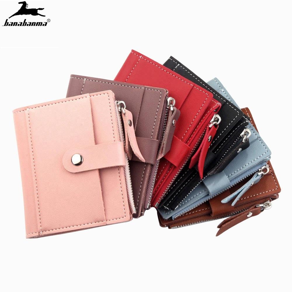 Women Wallets Billetera Mujer Zipper Hasp Coin Pocket Ladies Mini Wallet Small Women's Wallet Carteras Monederos Mujer
