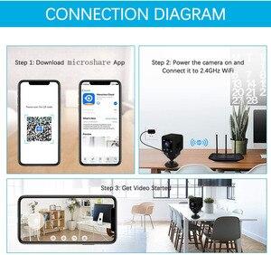 Image 5 - Kruiqi Wireless IP Camera HD 720P Mini Wifi Camera Network P2P Baby Monitor 1080P CCTV Security Video Camera with IR cut Two Way