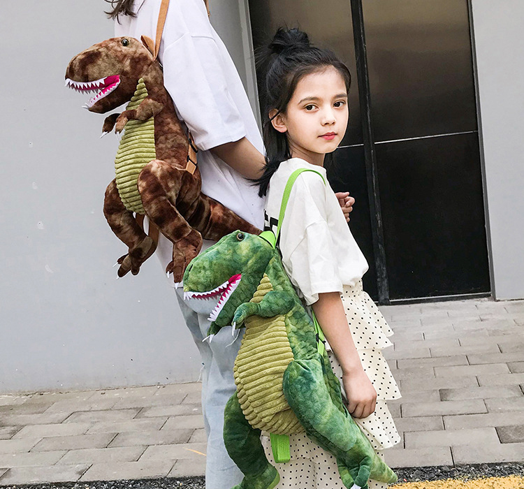 Children Backpacks Kids Bag 3D Dinosaur Baby Bag For Boys Girls Cute Animal Prints Travel Bags Toys Gifts