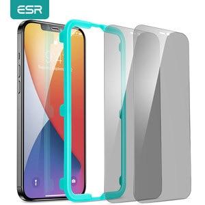 Image 1 - Esr Voor Iphone 12 Screen Protector Privacy Anti Spy Voor Gehard Glas Iphone 12 Mini 12 11 Pro Max X xr Xs Max Beschermende Film