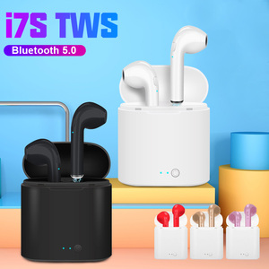 i7s TWS Wireless Headphones Bluetooth 5.0 Headset Music Earphones With Mic sport Earpiece For iPhone Xiaomi Samsung Huawei LG