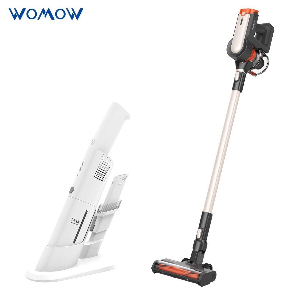Womow Cordless Vacuum Cleaner 25kpa Power Suction Aspiradora Stick Handheld Wireless Vacuum Cleaner W20 Vs Ilife For Home Car 1
