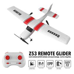 NEW 2.4Ghz RC Airplane Toys RTF Epp Foam UAV Remote Control Glider Plane Kit Cassna 182 Aircraf More Battery Increase Fly Time