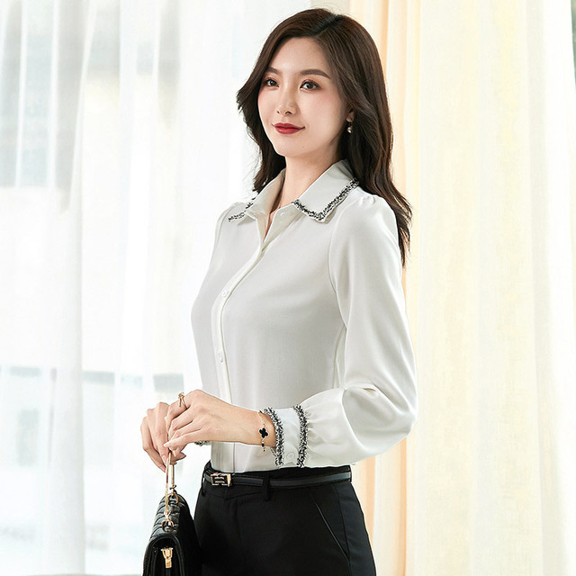 Women Blouses Woman Shirts Tops Long Sleeve Shirt Chiffon Blouse Women Plus Size 5XL FreeShipping Fashion Woman Blouses 2020 2