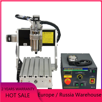 Professional Industrial metal engraving machine cnc 3020 wood router pcb mini cnc milling machine with handwheel 800w spindle ddcsv3 1 standalone motion controller off line 100 pulse mpg handwheel emergency stop for cnc router engraving machine