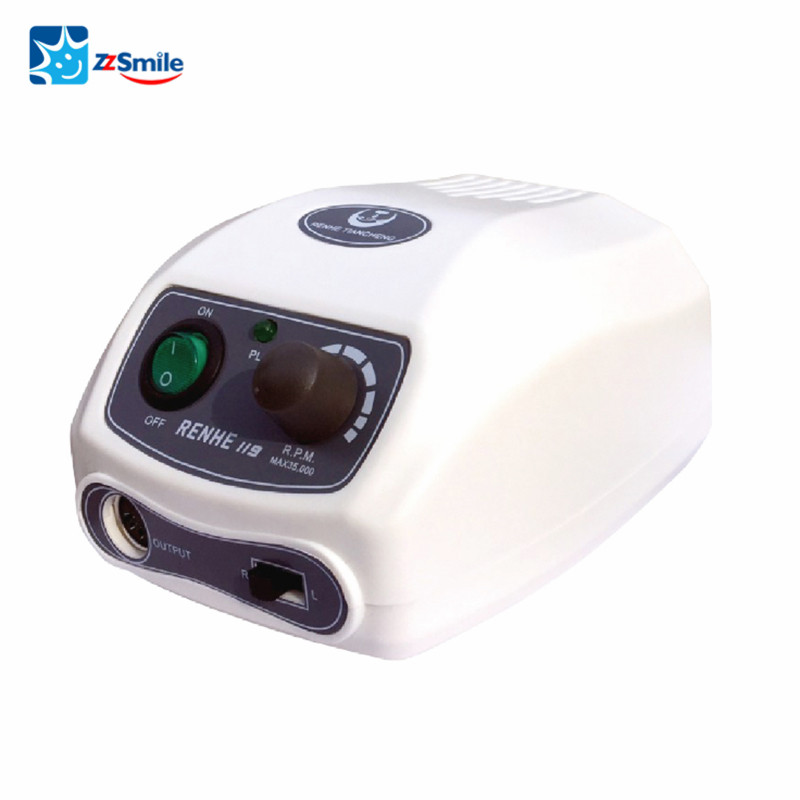 Self-diagnostic Dental Micro Motor With Speed Foot Switch Dental tools RENHE 119
