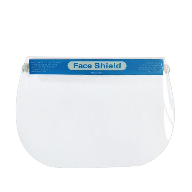 All-Purpose Face Shield Transparent Protective Mask Anti-Saliva Protective Hat Transparent Protective Face Mask Protect Safety 1