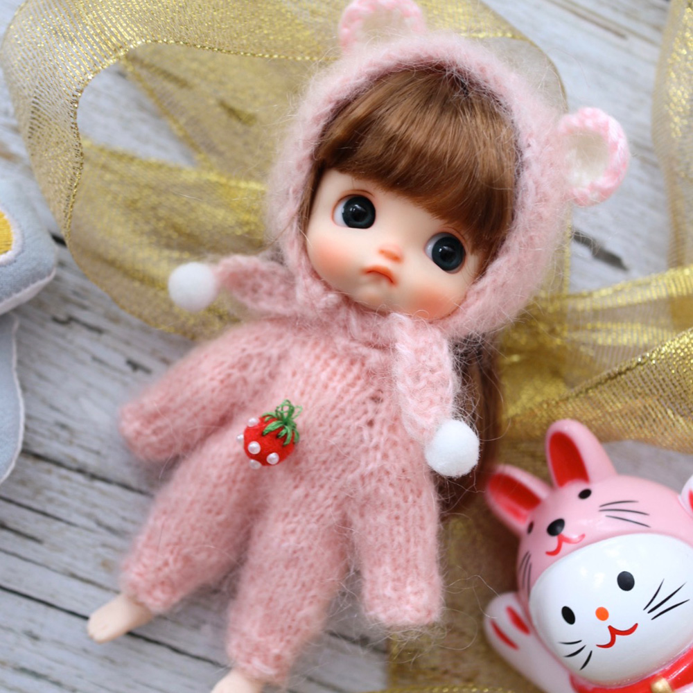Obitsu OB11 BJD 11CM Doll Toys 19 Joint Top Quality Chinese Doll BJD Ball Joint Doll Fashion Gift Doll With Sweater