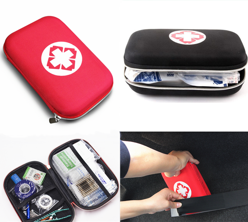 Emergency Medical Survival Treatment Rescue Box First Aid Kit Waterproof EVA Bag Person Portable Outdoor Travel Drug Pack Kits 3