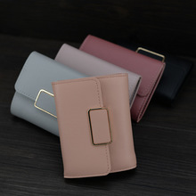 2019New women wallets,bendy and the ink machine,Female Short Mini All-match Korean Students Love Small Wallet purse Money