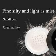 Gładki puder sypki przezroczysty wykańczający kontrola oleju wodoodporna dla makijaż twarzy wykończenie ustawienie kosmetyczne TSLM2