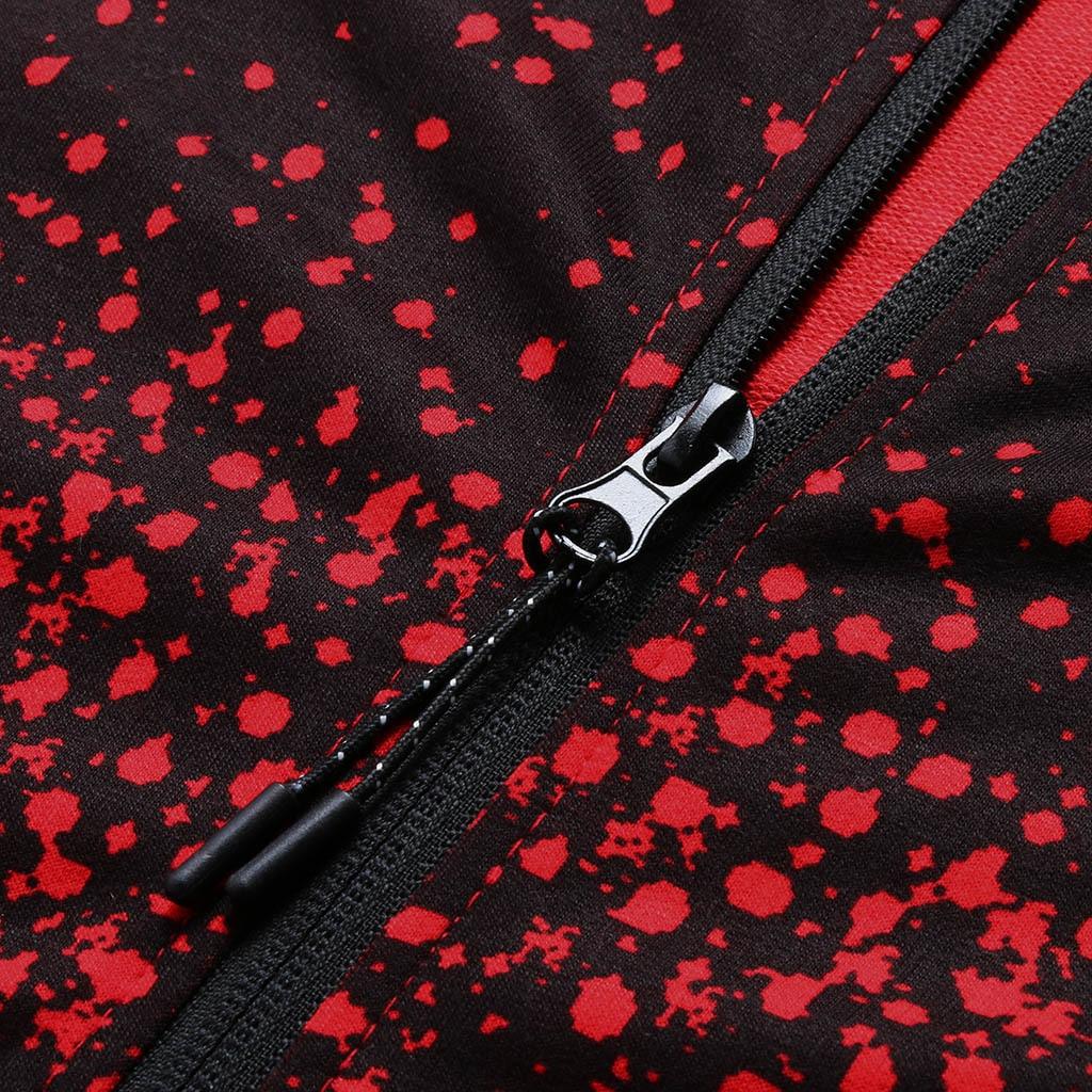 H5d2651f381b6450d8d7dc058eae9b78ad Jacket Men Casual Gradient color Hooded Sweatshirts zipper Hoodies Man Clothing