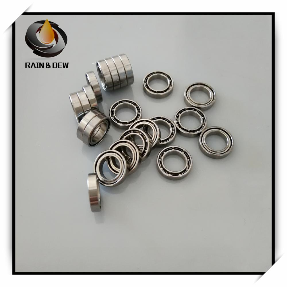 7mm Outside 11mm Width 3mm SMR117-ZZ Stainless Steel Ball Bearing Bore Dia