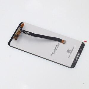 Image 5 - Original pour les pièces de réparation décran tactile daffichage à cristaux liquides de Huawei Honor 7C Aum L41 pour laffichage à cristaux liquides décran dhonneur 7C avec le cadre