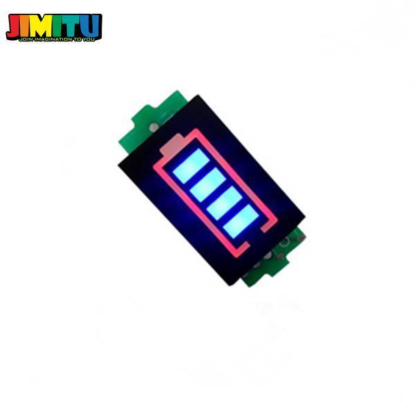 ЖК-дисплей JIMITU Li-po с индикатором заряда батареи, 3,7 В, 7,4 В, 11,1 В, 14,8 в, монитор питания для батарей с дистанционным управлением, аксессуары