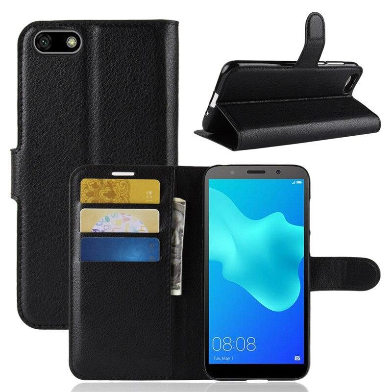 Huawei y5 lite caso flip couro do plutônio caso do telefone para huawei y5 lite DRA-LX5 dra lx5 y5lite y 5 lite caso capa traseira