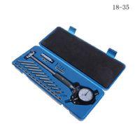 Conjunto De Medição De Diâmetro Indicador Dial Medidor Furo 50-160mm 35-50mm 18-35mm 0.01mm Alta Precisão de Teste de Medição Do Cilindro Do Motor