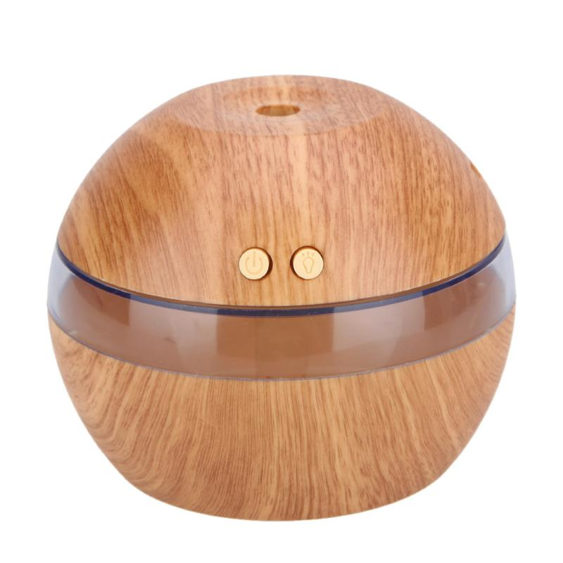 Mist Maker Aroma Essential Oil Diffuser Ultrasonic Aroma Humidifier for Home Office Air Purifier Wooden USB Mist Maker