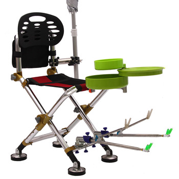 Outdoor Multifunctional folding portable fishing chair tackle   Fishing accessories  supplies