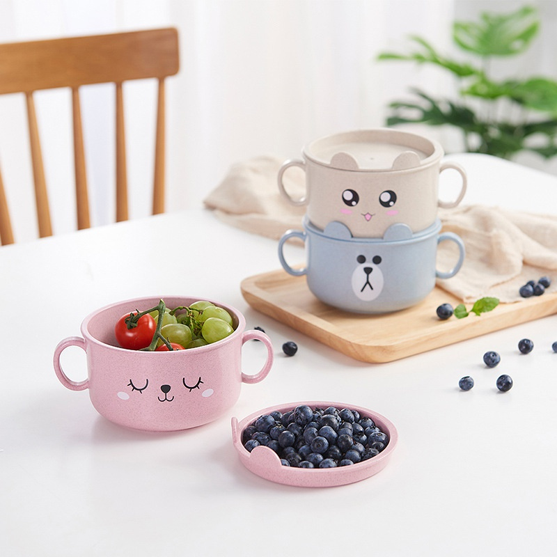 Baby Kids Child Dishes Suction Bowls Feeding Plate Tableware Children Food Container Placemat Dishes Infant Feeding Cup