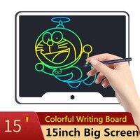 Новый 15-дюймовый ЖК-планшет для письма, электронная небольшая доска, Безбумажная офисная доска, 15
