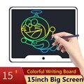Nova 15 polegada LCD Escrita Tablet Eletrônico Placa Pequena Lousa Placa de Escrita Escritório Sem Papel 15