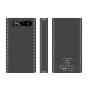 Image 4 - QC3.0 PD pantalla LCD DIY 6x18650 carcasa de batería portátil caja de carga rápida