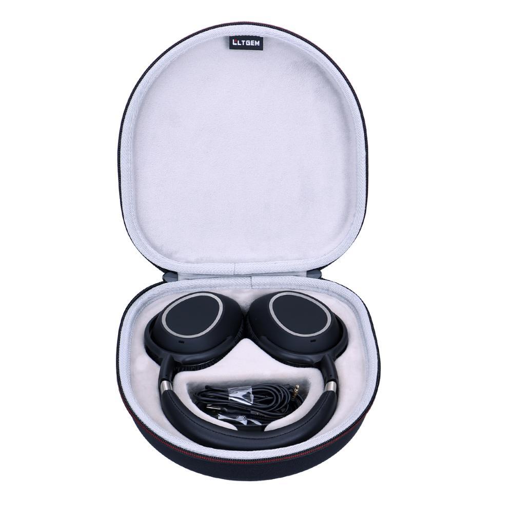 LTGEM Waterproof EVA Hard Case For Sennheiser PXC 550 Wireless NoiseGard Adaptive Noise Cancelling Bluetooth Headphone