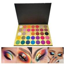 Makeup Eyeshadow Palette Wholesale Shimmer Glitter Matte 35-Colors And 50pcs No-Logo