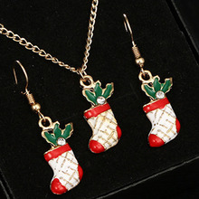 2019 Collar Chain Chains Rushed Kolye Collares Moana Christmas Fashion Oil Dropping Socks Coloured  Necklace Series Set